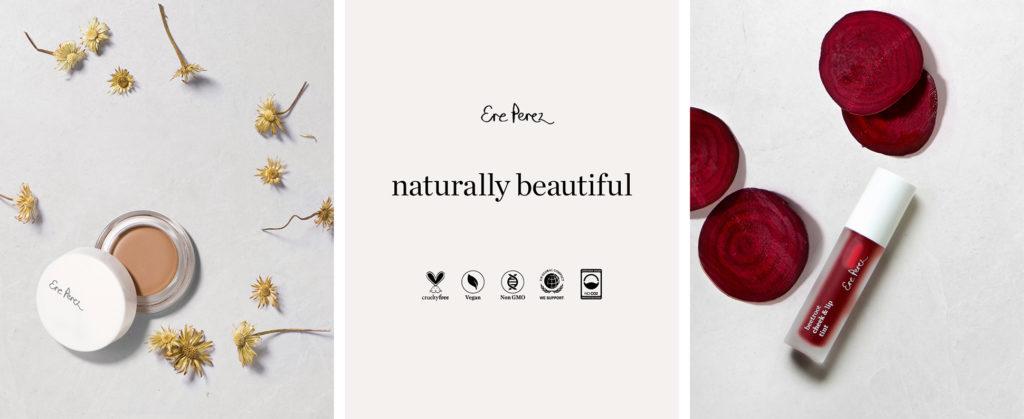 Ere Perez, maquillaje natural
